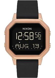 Nixon Reloj Digital de Cuarzo para Mujer con Correa de Acero ...