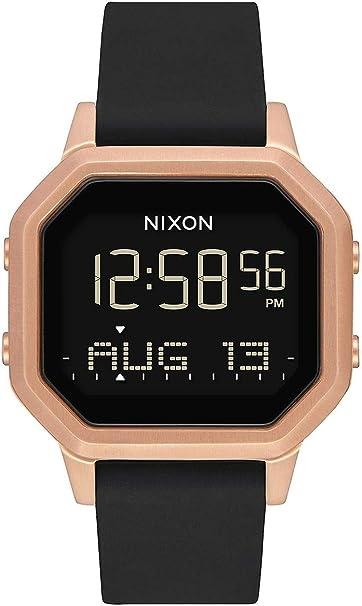 Nixon Reloj Mujer de Digital con Correa en Silicona A1211 1098-00