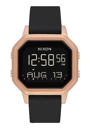 Nixon Reloj Mujer de Digital con Correa en Silicona A1211 1098-00: Amazon.es: Relojes