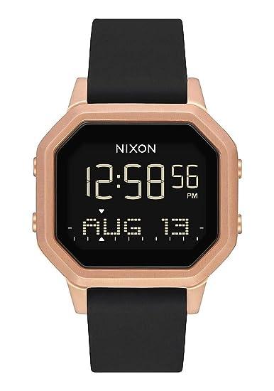 Nixon Reloj Mujer de Digital con Correa en Silicona A1211 1098-00: Nixon: Amazon.es: Relojes