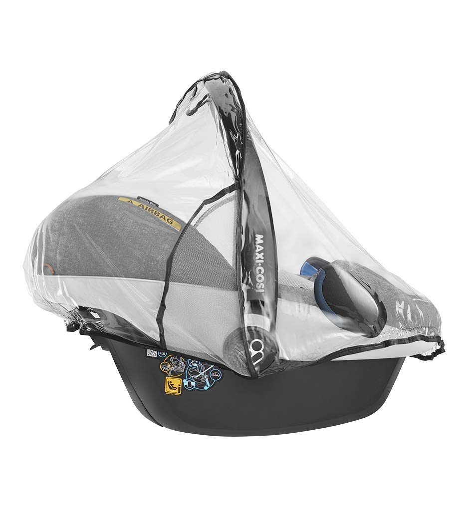Maxi Cosi Regenschutz Für Maxi Cosi Babyschale Rock Pebble Pebble Plus Cabriofix Und Citi Sps Transparent Baby