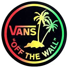 Vans Skateboard Shoes Sticker - Off The Wall. 10cm wide approx. shoes trainers bmx surf New sk8