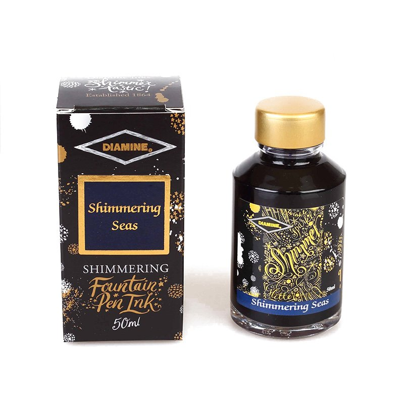 Diamine - Reluciente Shimmering Seas 50ml