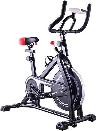 Bicicleta Estática Profesional Ciclismo Estacionario Cardio Ejercicio Quema De Grasa Interior Fitness Accesorio, Volante De Inercia 7K, MAX 120 Kg: Amazon.es: Hogar