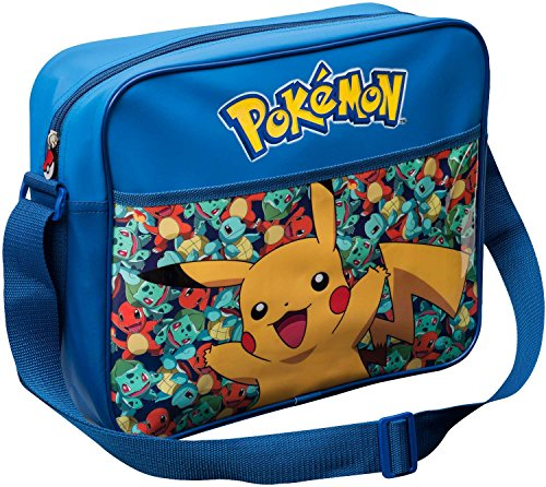 Pokemon Pikachu Dispatch Courier Bag Children's Blue Shoulder