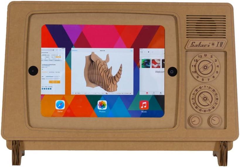 Safari TV, iPad Soporte de cartón Safari (Compatible con iPad ...