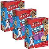 ALPO Variety Snaps Big Bites Dog Treats with Beef, Chicken, Liver & Lamb Flavors 32 oz. Box of 3 For Sale