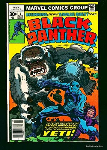 Black Panther #5 NM- 9.2