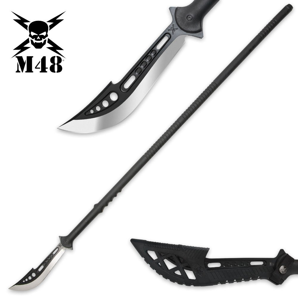 M48 Naginata Polearm with Vortec Sheath