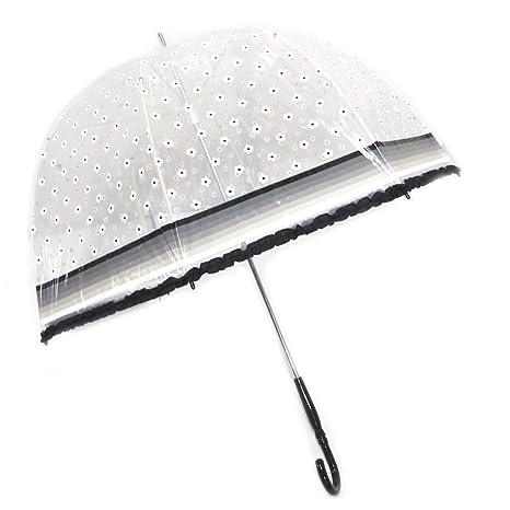 Lollipops [P1033] - Paraguas de caña de campana Lollipops en blanco y