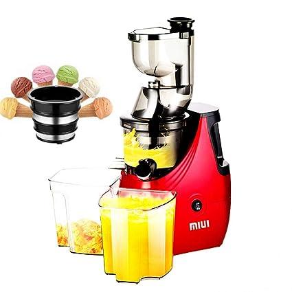 ZhYu Extracción de Jugo de escoria Exprimidor casero pequeña máquina de Jugo de Fruta Multifuncional de