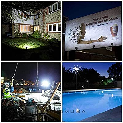 100W LED Bulbs Flood Light Outdoor Landscape Security Spotlight Commercial Lamp (Cool white)