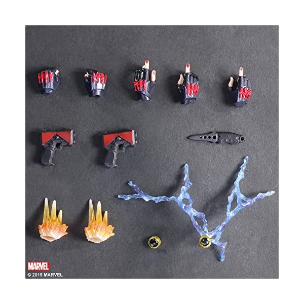 612UZtj7FnL Marvel Comics Variant - Black Widow Play Arts Kai - 26cm