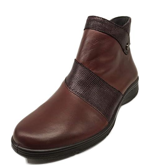 Botin Pitillos 2846 Cremallera Combinado: Amazon.es: Zapatos y complementos