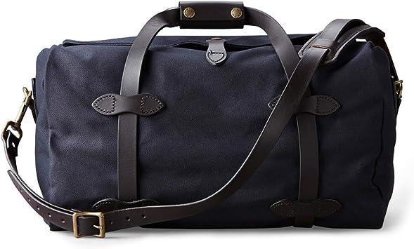 Amazon.com | Filson Small Rugged Twill Duffle Bag | Color: Navy | Travel Duffels