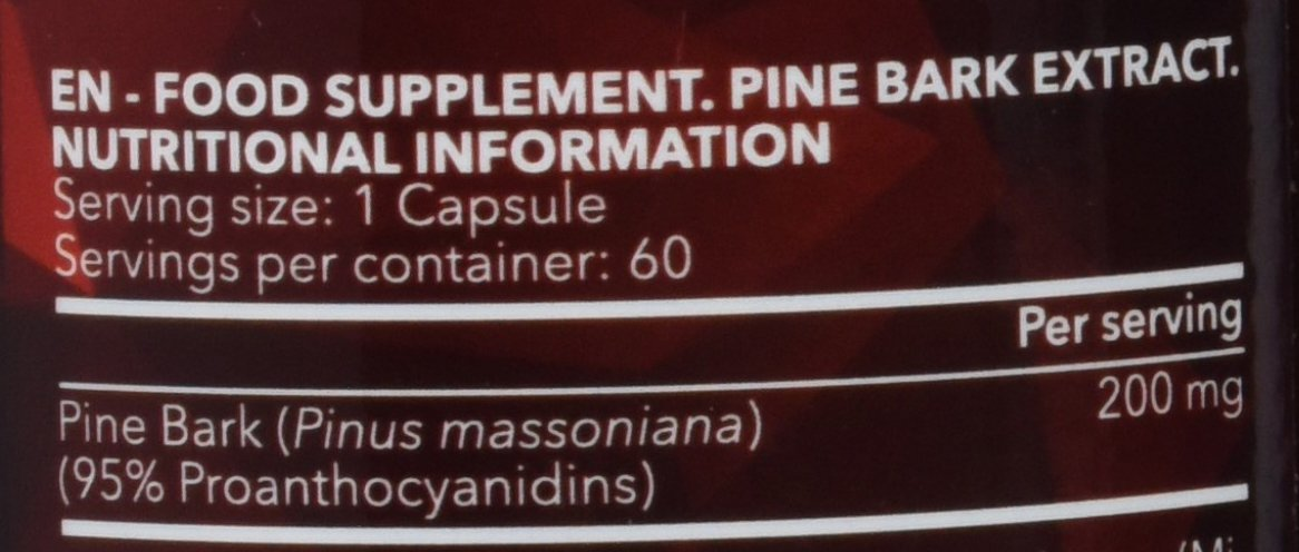 Prozis Pine Bark Extract - 60 Cápsulas: Amazon.es: Salud y cuidado personal