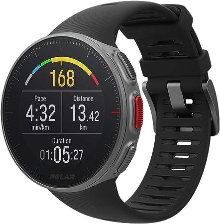 Polar Vantage V Pulsómetro con GPS, Unisex Adulto, Negro (Black), M/L-Circunferencia de la muñeca 155-210 mm: Amazon.es: Deportes y aire libre
