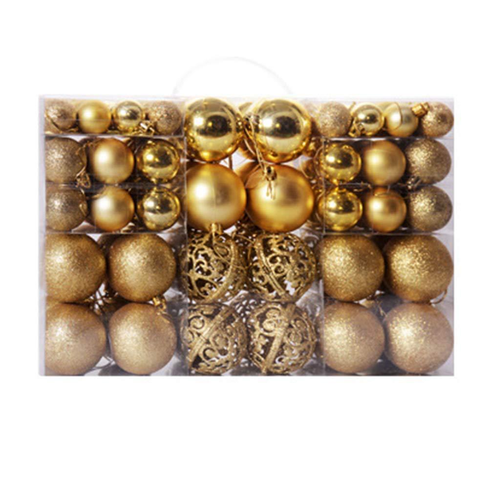Freesiom Boules de No/ël A Decorer Kit de 12 Ornement D/écoration Suspendu Sapin Arbre Traditionnel Original Kawaii Cadeau D/écor Suspendre Rouge