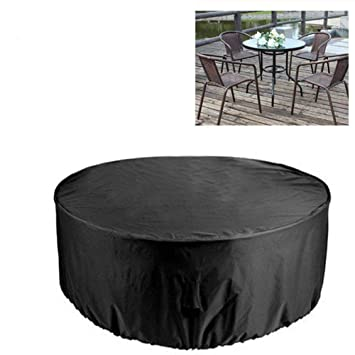 Couverture De Table De Jardin Couvertures De Jardin Impermeables Couvertures De Patio De Jardin Rond Couverture Protectrice Exterieure De Meubles Pour