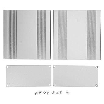 Caja de aluminio, caja de aluminio de 68x145x150 mm, caja de ...