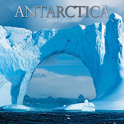 2019 Wall Calendar - Antarctica Calendar, 12 x 12 Inch Monthly View, 16-Month, Travel and Destination Theme, Includes 180 Reminder Stickers (Wall Photographic Calendar Monthly)