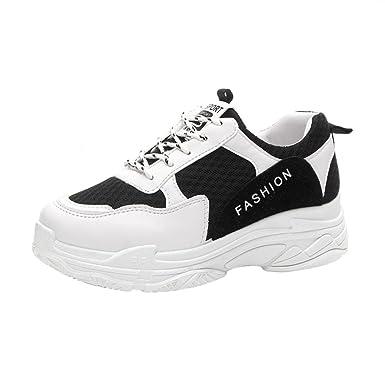 DEELIN Schuhe Damen Sommer Weiße Schuhe mit zufälligen Schuhen der Spitzes  Beschuht Weibliche Einzelne Schuhe Des ... 3690007c8c