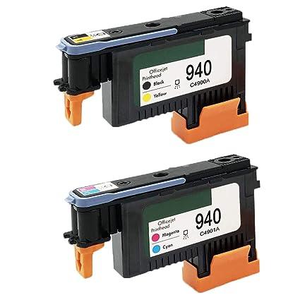 Karl Aiken Pack HP940XL 940 cabezal de impresión para HP Officejet ...