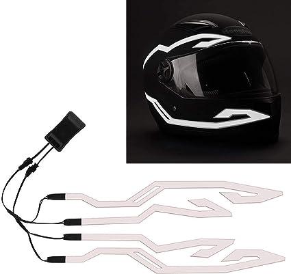 4PCS Upgrade Rechargeable Motorcycle Helmet Light