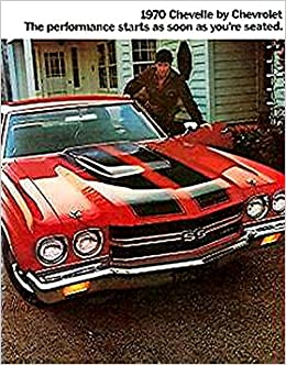 1970 Chevelle Ss 396 Ss 454 Full Color Sales Brochure Chevy