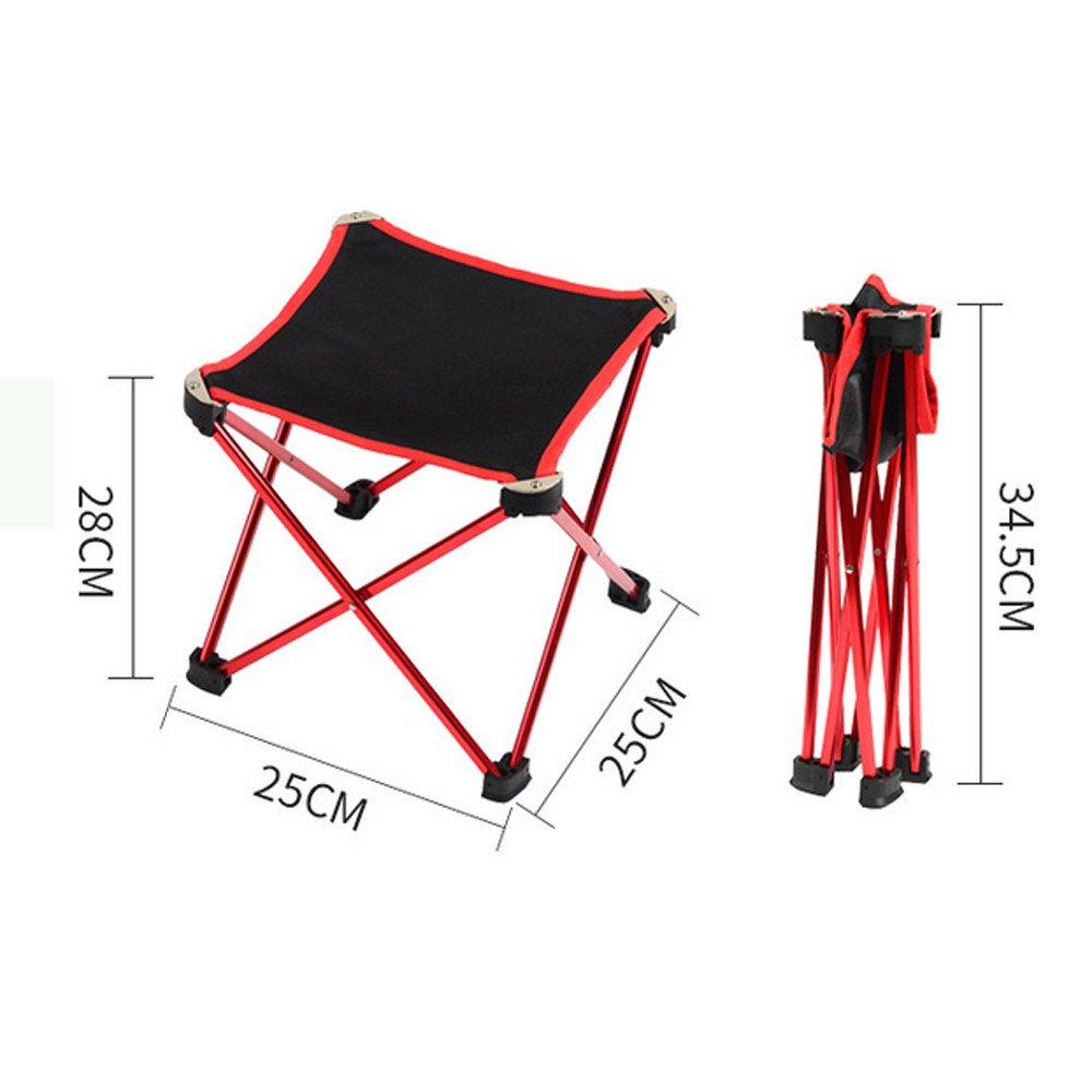 Dreamyth Outdoor Portable Folding Camping Hiking Fishing Picnic BBQ Stool Chair