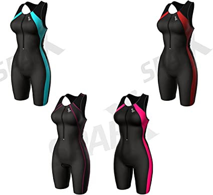 Sparx Women`s Performance Triathlon Suit Womens Tri Suit Running Swimming Cycling Padded Skinsuit