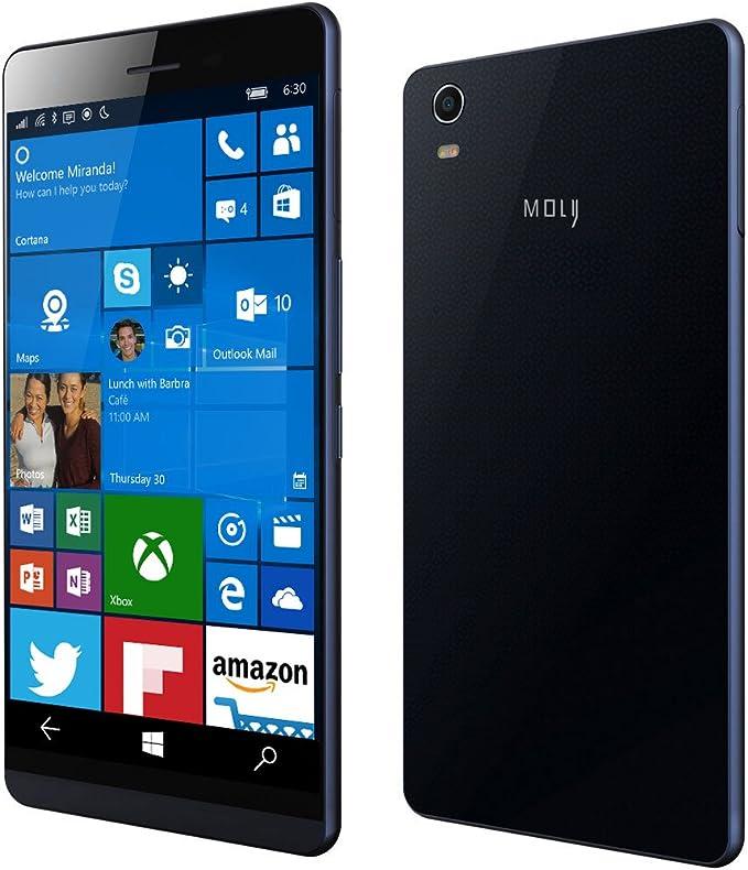Moly x1 Windows 10 Mobile desbloqueado teléfono móvil Quad Core 4 ...
