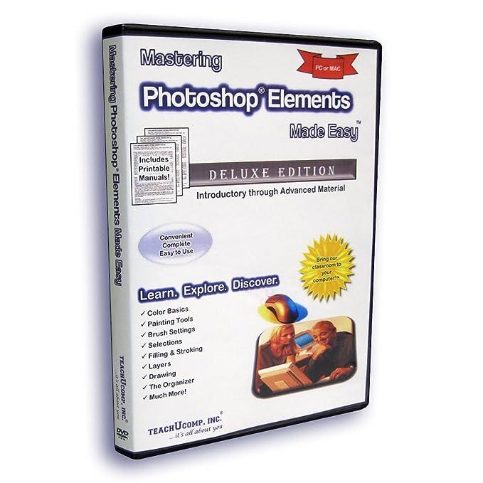 Amazon. Com: mastering photoshop elements made easy training.