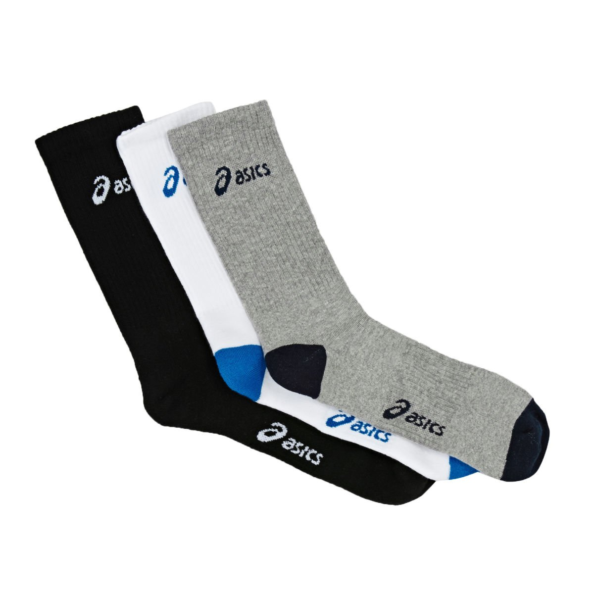 ASICS Mid Height Running Socks - 3 Pack