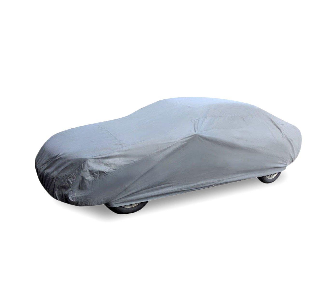 M MEDIA WAVE store Telo copriauto Copri Auto Impermeabile peva PVC in Diverse Misure