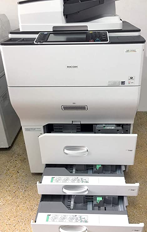 Amazon.com: Ricoh Aficio MP C6502 Color Copier – A3, 65ppm ...