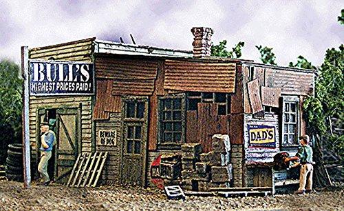 - Bar Mills HO KIT Laser-Cut Bull's Salvage BMM0452