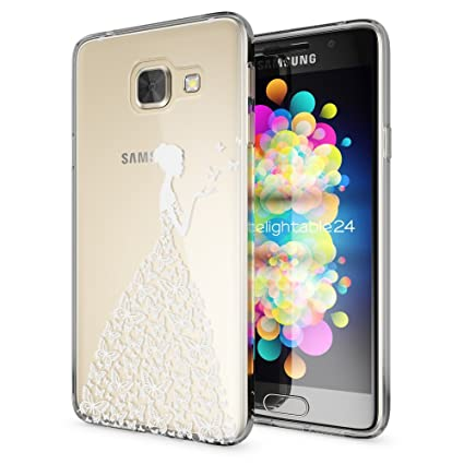 Samsung Galaxy A3 2016 Funda Carcasa de NALIA, Protectora Movil TPU Silicona Ultra-Fina Gel Transparente, Cubierta Goma Bumper Cover Case Clear para ...