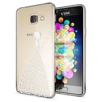 NALIA Funda Carcasa compatible con Samsung Galaxy A3 2016, Motivo ...