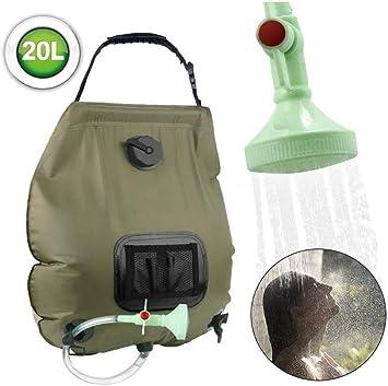 LDJ – Bolsa de ducha solar para exterior, bolsa de ducha ...