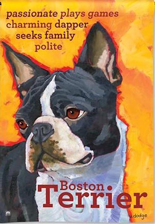 BreezeArt Boston Terrier Garden Flag 31172
