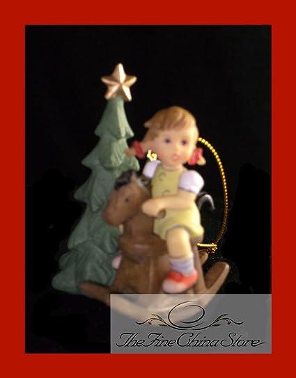 Hummel Christmas Ornaments.Mi Hummel Christmas Ornament Cowboy Corral Girl