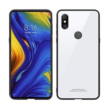 07388fa94d Amazon | Cresee Xiaomi MI MIX3ケース 弾性TPUバンパー+ 強化ガラス背面 ...