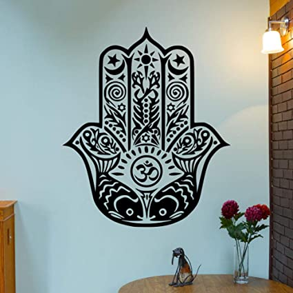 Amazon.com: UUTAG Asian Bandana Palm Tribal Yoga Mandala ...