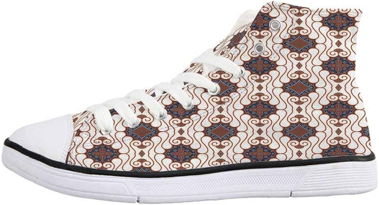 Amazon Com Batik Comfortable High Top Canvas Shoes Retro