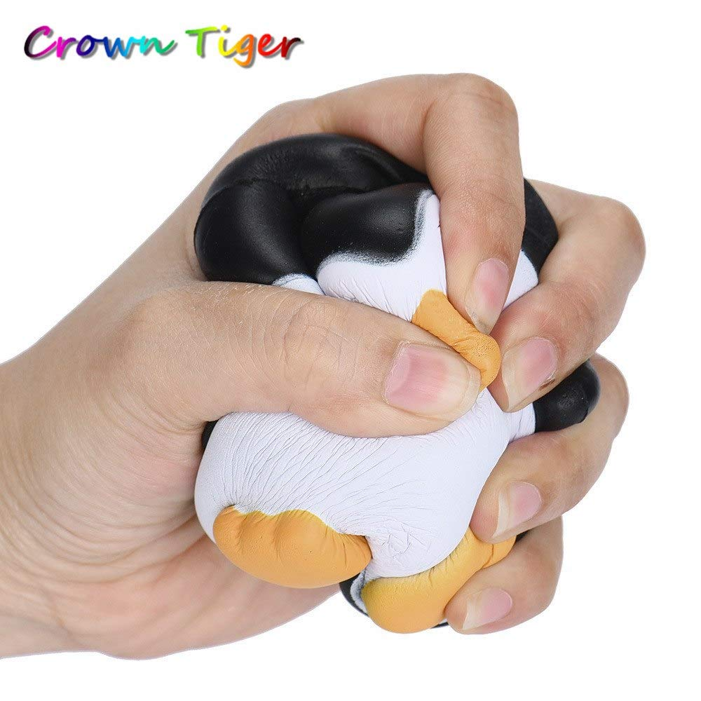 LUCILAS Jumbo Squishy Cut Animal Slow Rising Anti Stress Toy Bread Cake Kid Toy Doll Gift Fun
