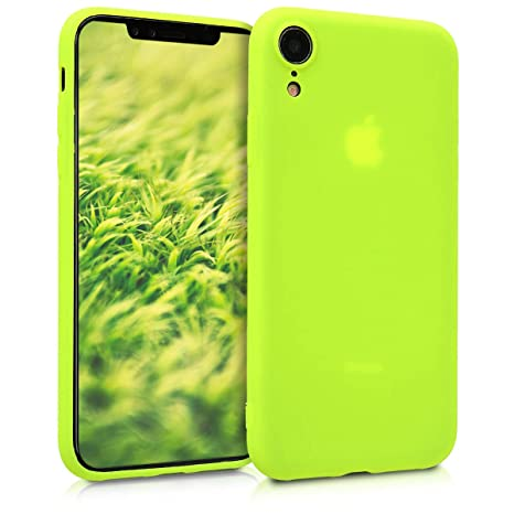 coque silicone jaune iphone xr
