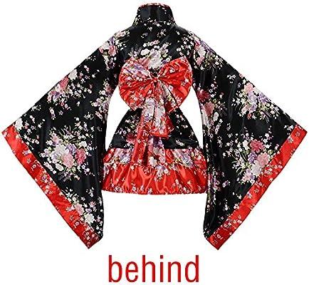 tzm2016 - Disfraz de Cerezo japonés, diseño de Flores, Kimono ...