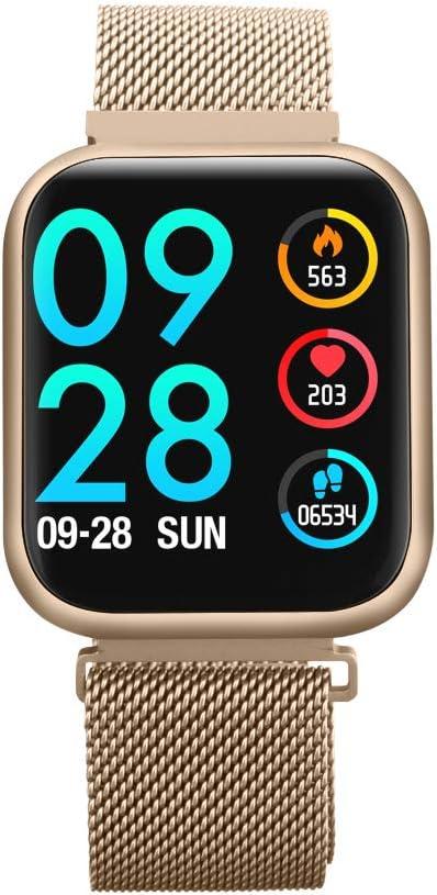 Amazon.com: ZMCY P80 Smart Watch,Bracelet with Blood ...
