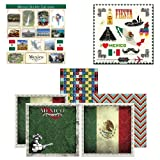 Scrapbook Customs Themed Paper and Stickers Scrapbook Kit, Mexico Sightseeing by Scrapbook Customs, Inc.